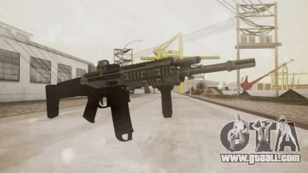 Bushmaster ACR Silver for GTA San Andreas