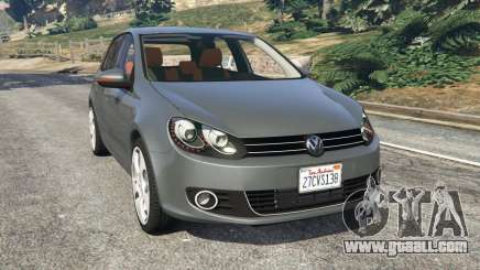 Volkswagen Golf Mk6 v2.0 for GTA 5