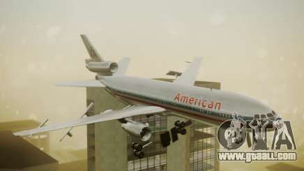 DC-10-10 American Airlines Luxury Liner for GTA San Andreas