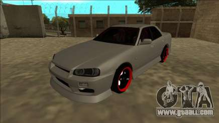 Nissan Skyline ER34 Drift for GTA San Andreas