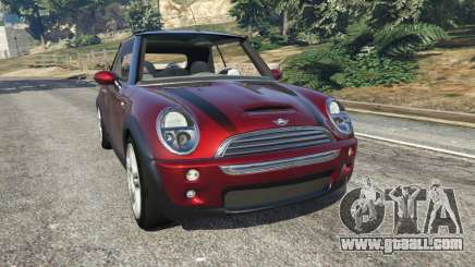 Mini Cooper S Convertible v0.2 for GTA 5