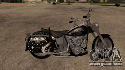 Harley Davidson Fat Boy Sons Of Anarchy for GTA San Andreas