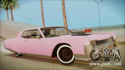 GTA 5 Vapid Chino Hydraulic Version for GTA San Andreas