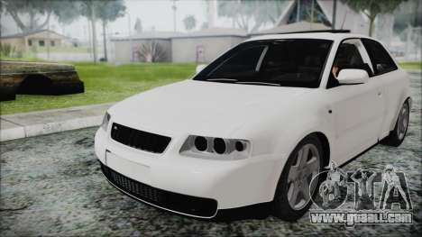Audi A3 1.8 S3 for GTA San Andreas right view