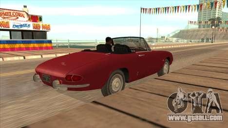 1966 Alfa Romeo Spider Duetto [IVF] for GTA San Andreas left view