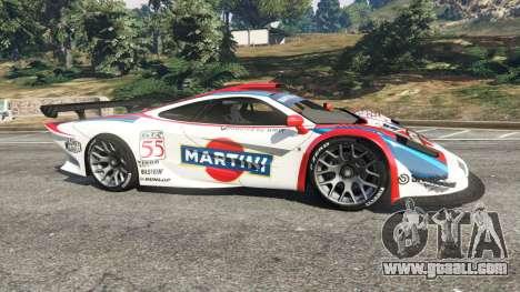GTA 5 McLaren F1 GTR Longtail [Martini Racing] left side view