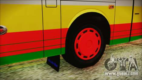 Bus Pt.BARUMUN Sibuhuan for GTA San Andreas back left view
