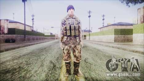 World In Conflict Malashenko Winter for GTA San Andreas second screenshot