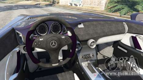 GTA 5 Mercedes-Benz SLR McLaren Stirling Moss rear right side view