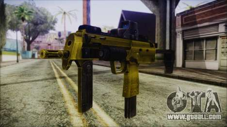 Point Blank MP7 Gold Special for GTA San Andreas