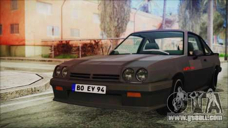 Opel Manta GSi Exclusive for GTA San Andreas