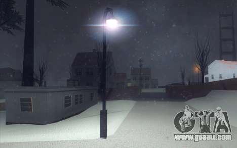 Winter Vacation 2.0 SA-MP Edition for GTA San Andreas ninth screenshot