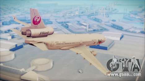 McDonnell-Douglas MD-11 Japan Airlines for GTA San Andreas left view