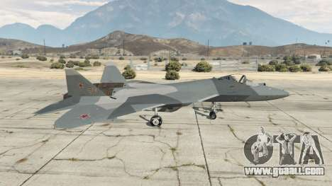 GTA 5 T-50 PAK FA v0.02 second screenshot