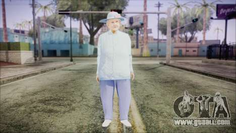 World In Conflict Old Lady for GTA San Andreas second screenshot