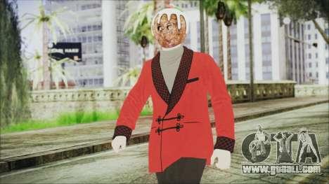 Skin DLC Executive Xmas for GTA San Andreas