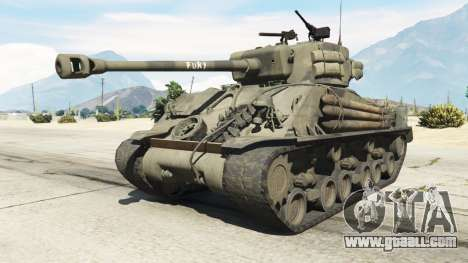 M4A3E8 Sherman Fury for GTA 5