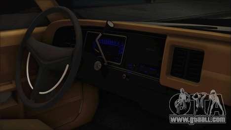 Dodge Monaco 1974 LSPD IVF for GTA San Andreas right view