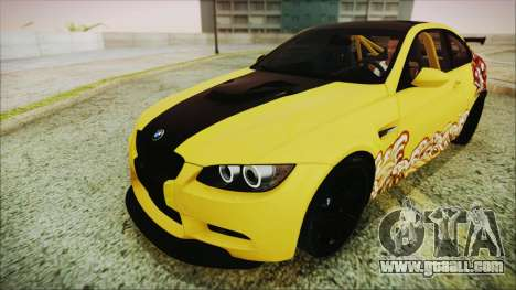 BMW M3 GTS 2011 IVF for GTA San Andreas engine