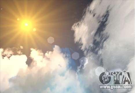 SkyBox and Lensflare for GTA San Andreas second screenshot