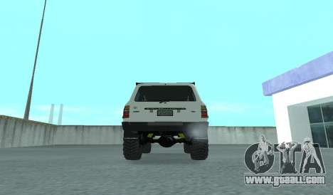 Toyota Autana 4500 off-road LED for GTA San Andreas right view