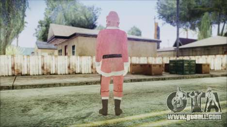 GTA 5 Santa African American for GTA San Andreas third screenshot