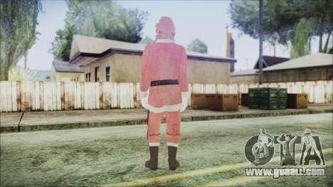 GTA 5 Santa African American for GTA San Andreas third screenshot
