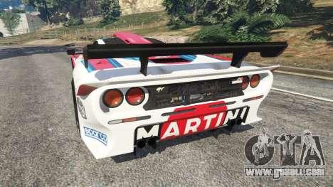 GTA 5 McLaren F1 GTR Longtail [Martini Racing] rear left side view