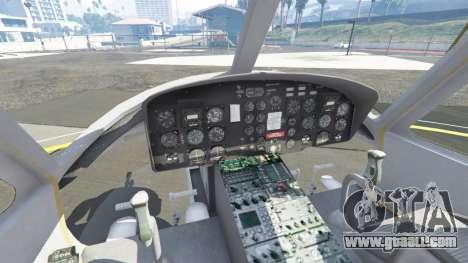 GTA 5 Bell UH-1D Iroquois Huey Gunship fifth screenshot