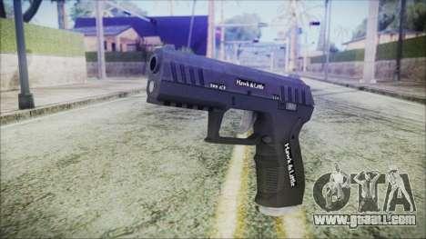 GTA 5 Combat Pistol v2 - Misterix 4 Weapons for GTA San Andreas