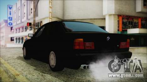 BMW 525i E34 1992 for GTA San Andreas left view