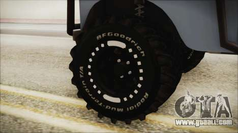 Land Rover Series 3 Off-Road for GTA San Andreas back left view