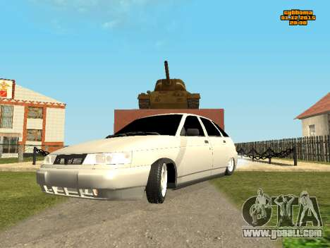 VAZ 2112 Bunker 0.1 v for GTA San Andreas
