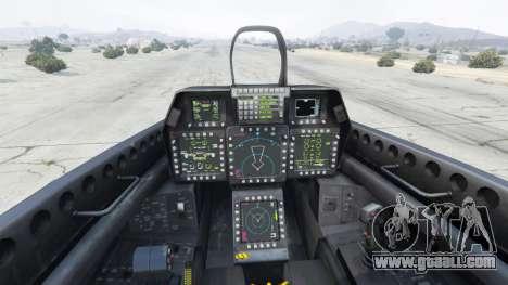 GTA 5 Lockheed Martin F-22 Raptor fifth screenshot
