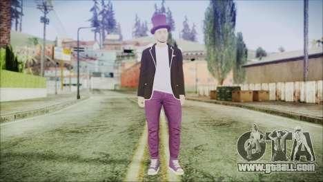 GTA Online Skin 20 for GTA San Andreas second screenshot