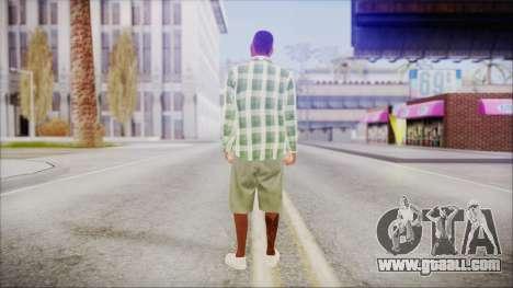 GTA 5 Grove Gang Member 2 for GTA San Andreas third screenshot