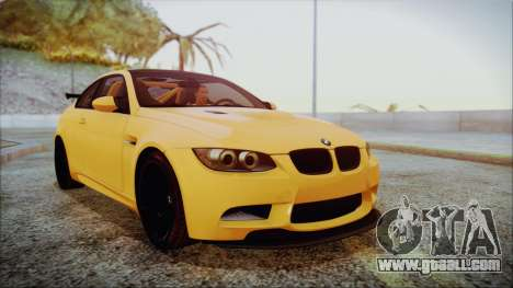 BMW M3 GTS 2011 IVF for GTA San Andreas