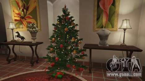 GTA 5  Christmas decorations for Michael's house sixth screenshot