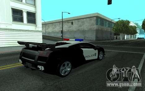 Lamborghini Gallardo Tunable for GTA San Andreas right view
