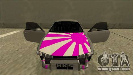 Nissan Silvia S14 Drift for GTA San Andreas upper view