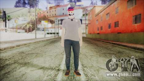 GTA Online Skin 1 for GTA San Andreas second screenshot