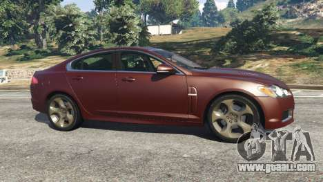 Jaguar XFR 2010 for GTA 5