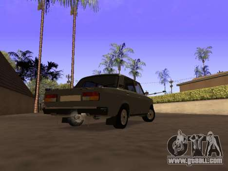 VAZ 2107 by Liksan v0.3 for GTA San Andreas left view