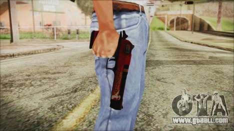 Xmas Desert Eagle for GTA San Andreas third screenshot