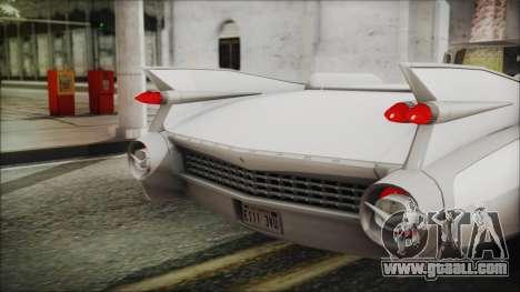 Cadillac Eldorado Biarritz 1959 for GTA San Andreas back view