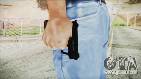GTA 5 SNS Pistol - Misterix 4 for GTA San Andreas third screenshot
