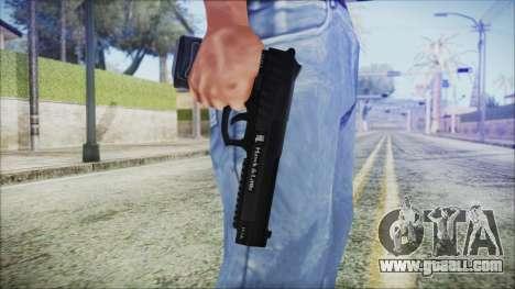 GTA 5 Pistol .50 v2 - Misterix 4 Weapons for GTA San Andreas third screenshot