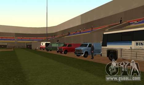 Baseball for GTA San Andreas second screenshot