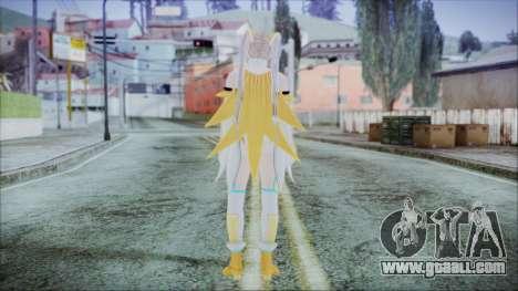 DoA5 LR Marie Rose Schoolgirl Striker Blonde for GTA San Andreas third screenshot
