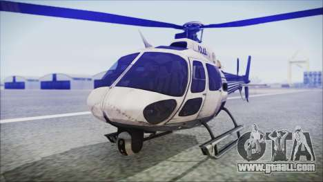 Batman Arkham Knight Police-Swat Helicopter for GTA San Andreas